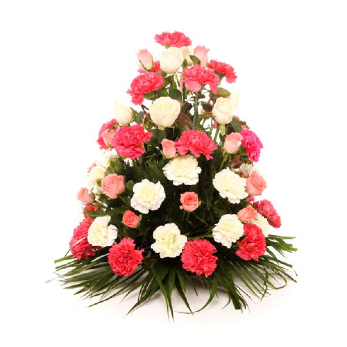 Indias no1 online flowers delivery portal here flower mixed roses n carnations bouquet izmirmasajfo