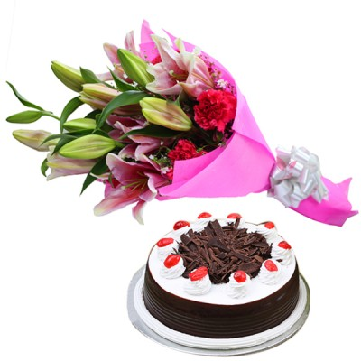 Exquisite Choice N Chocolate Cake Combo