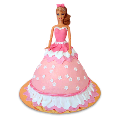 FLAMBOYANT PINKIE CAKE