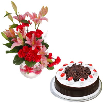 Opulent Wishes N Cake Combo