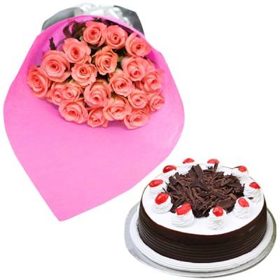 Pink Blush N Cake Combo