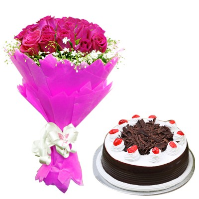 Ravishing Beauty N Cake Combo