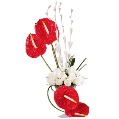 Roses n Enthurium