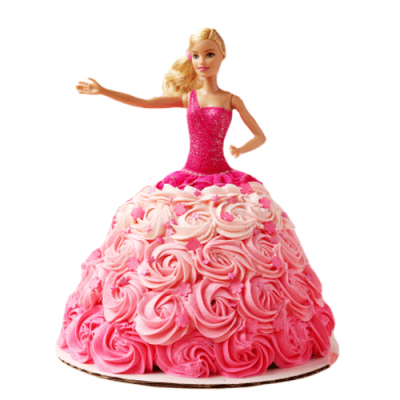PINK ROSE BARBIE