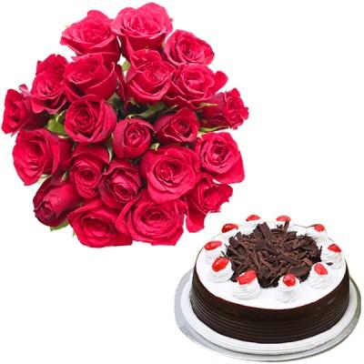 Sweet Twenty N Cake Combo