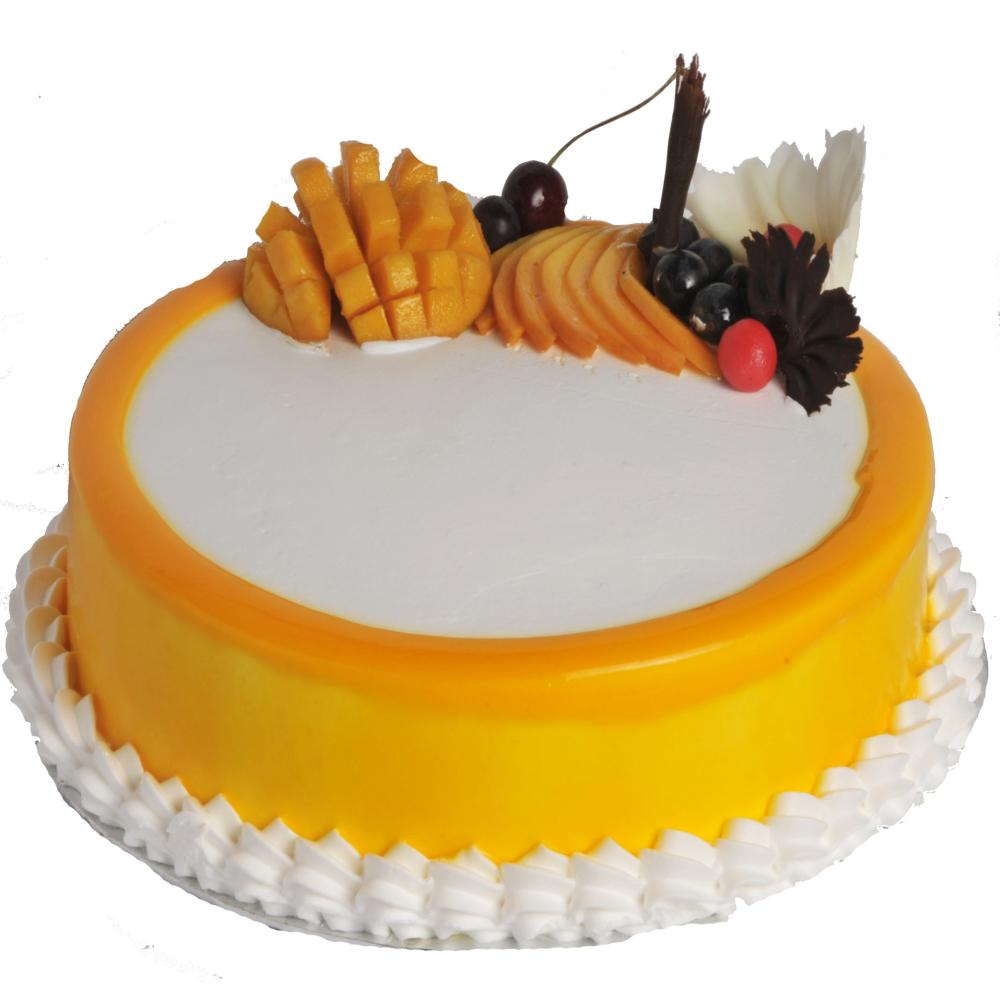 Mango Fruits Flavoured cake